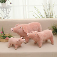 10'' Pig Plush Stuffed Toy Animal Doll Toys For Kids Baby Christmas Gift