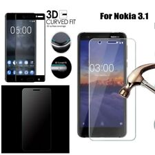 Tempered Glass For Nokia 3 5 6 8 7 Plus 5.1 6.1 Full Cover Screen Protector Film