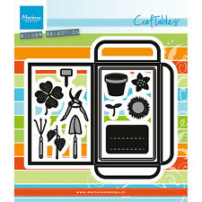 Marianne Design Craftables Seed Pocket & Garden Tools Cutting Die CR1395
