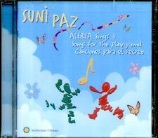 "SUNI PAZ "" ALERTA SINGS & SONGS FOR THE PLAYGROUND""CD SIGILLATO CANCIONES RECREO"