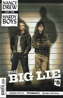 Nancy Drew And The Hardy Boys Comic Issue 5 Big Lie Modern Age First Print 2017
