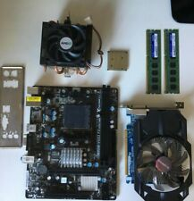 ASrock MOBO + AMD 3.2Ghz CPU + Gigabyte GTX 750 GPU + 8gb RAM BUNDLE