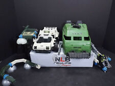 Vintage GI Joe P5rD8E-U4 tank & Snow Cat W/ Accessories