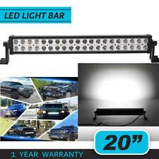 NEW LED Work Light Bar 120W 20 inch Spot Flood Combo Beam FIT Dodge Ram 1500