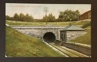 1908 Port Huron to Kalamazoo Michigan St Clair Tunnel RPO RPPC Postcard Cover
