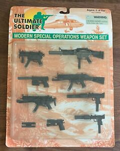 """NEW The Ultimate Soldier Modern Special Operations Weapon Set for 12"""" 1:6 Figure"""