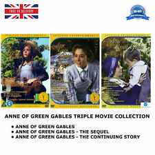 ANNE OF GREEN GABLES TRILOGY TRIPLE MOVIE COLLECTION REGION 2 UK COMPATIBLE DVD