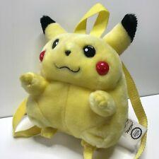 Vintage Rare Pikachu 90's Mini Backpack Pokémon Plush Pokemon ~Dusty~