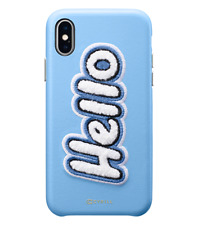 iPhone X Case Cyrill Hello Sky