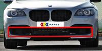 BMW 7 NEW GENUINE F01 F02 FRONT M SPORT BUMPER LOWER OPEN GRILL SET OF THREE