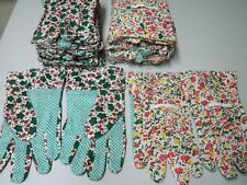 12 Paar  Gartenhandschuhe Arbeitshandschuhe Baumwolle mit Noppen Gr.M 8-10