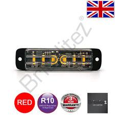 LED Warnleuchte, Grill, Richtungs-, UK Verkäufer, 6 3W, Super Bright, Rot