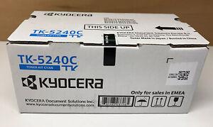 Kyocera TK-5240C Original Toner Cyan für ECOSYS M5526 + P5026 Series