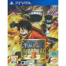 MSRNY PSVita One Piece Pirate Warriors 3 Kaizoku Musou 3 Asian ver Chinese subs