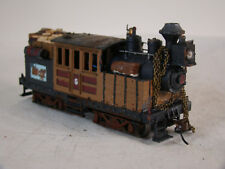 HO Logging Steam Locomotive Climax - custom weathered - DCC + Sound + Light lot