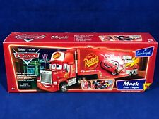 New - MACK TRUCK PLAYSET - SUPERCHARGED BOX Hauler 7 Play Features PIXAR CARS