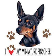 T-shirt with Mini Pinscher transfer