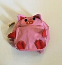 Nicole Animal Pink Piglet Pig Kids School Backpack Back Pack Bag NEW WITH TAGS