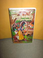 Walt Disney's Blancanieves y Los Siete Enanitos - VHS Tape - Movie - Snow White