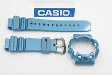 Original CASIO G-Shock Gulfman G-9100TC-2 Glossy Blue BAND & BEZEL Combo G-9100