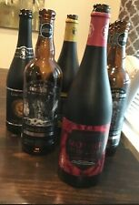 6 Game Of Thrones OMMEGANG Brewery Empty Beer Bottles Collectors Iron throne
