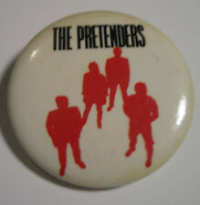 THE PRETENDERS LEARNING TO CRAWL CONCERT TOUR BUTTON 1984 CHRISSIE HYNDE