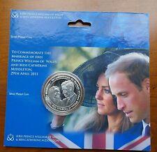 2011 Royal Wedding - William & Catherine Medallion in blister pack (224)