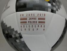 Japón-Poland adidas Telstar WM inprint inscripciones match ball top replique 2018