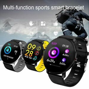 Smart Watch Sport Bracelet Fitness Activity Tracker for iPhone Samsung Android