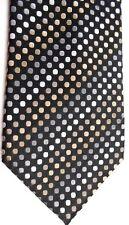 "Van Heusen Men's Silk Tie 59"" X 4""  Multi-Color Geometric/British Stripe"
