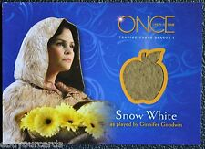 Once Upon a Time M11 Snow White Wardrobe Costume Prop Trading Card Disney ABC