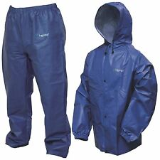 New Frogg Toggs Pro Lite Rain Suit M/L Royal Blue Pl12140-12M/L