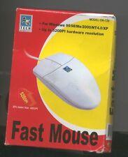 FAST MOUSE seriale NUOVO db9-rs232 520dpi da ITALIA neu serial maus mice