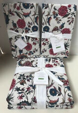 Pottery Barn Amelie Print King Duvet Cover & 2 King Shams Floral Cotton NWT