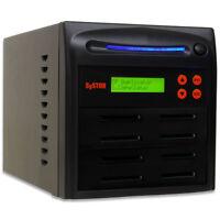 SySTOR 1-7 CF Memory Card Copier - Compact Flash Drive Duplicator Copy Tower