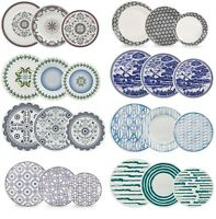 18 Piece Ceramic Porcelain Dining Dinner Service Set Plates
