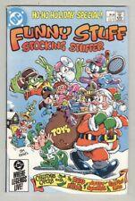 Funny Stuff Stocking Stuffer #1 VF/NM 1984 Christmas cover