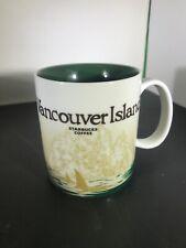 2009 Starbucks Coffee Collectors Series Vancouver Island Coffee Mug Cup 16 fl oz