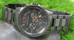 ARMANI EXCHANGE Men's Stainless Steel Quartz Watch