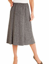 Faldas de mujer marrones de poliéster, Talla 38