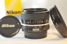 Nikon Nikkor 28mm f/2.8 AI PRIME Fast wide lens HN-2 for FM2 F3 F5 DF D800 D610