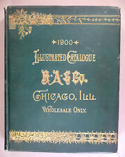 Benjamin Allen CATALOG - 1900 -- watches, jewelry -- 736 page hardcover