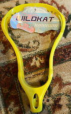 Warrior Wildkat Women's Lacrosse Head Made for 2005 Northwestern Wildcats Yellow