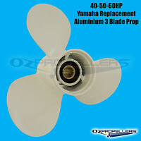 For Yamaha Propeller 40 50 60HP Outboard 3 Blade Aluminium Prop All Sizes
