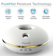 Fancii  Aquamist ll  Mini Air Humidifier Portable Humidifier  for Home or Office