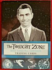 THE TWILIGHT ZONE - Rod Serling Edition - Promo Card P1 - Rittenhouse 2019