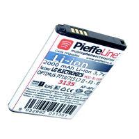 per LG P710 P715  OPTIMUS L7 II F3 F5 Batteria a Li-ion 2000 mAh modello BL-59JH