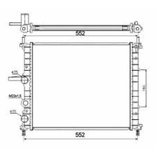 Kühler Motorkühlung - NRF 53607