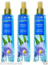 3 PACK Calgon Body Mist Spray Morning Glory 8oz 031655273419