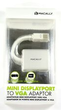 MDVGA  MACALLY Mini DisplayPort to VGA Adapter For Macbook Air/Pro
